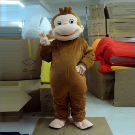 Mascot Costume Little Monkey George