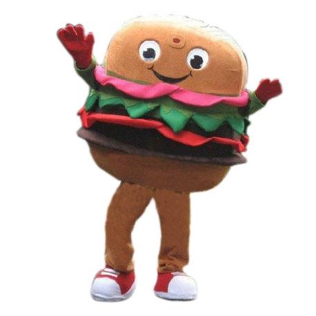 Mascotte Hamburger