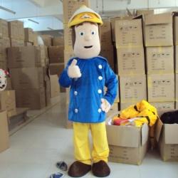 Mascot Costume Fireman Sam