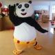 Mascotte Kung fu panda