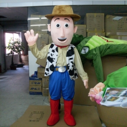 Mascotte Woody