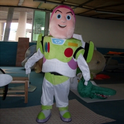 Mascot Costume Buzz Lightyear