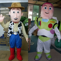 Mascot Costume Woody and Buzz