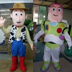 Mascotte Woody e Buzz