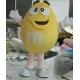 Mascotte M&M giallo