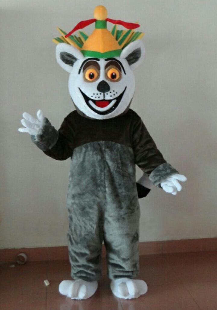 mascot costume king julien