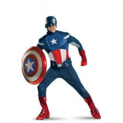 Mascot Costume Capitan America (except shield)