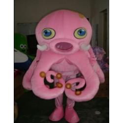 Mascotte Piovra rosa