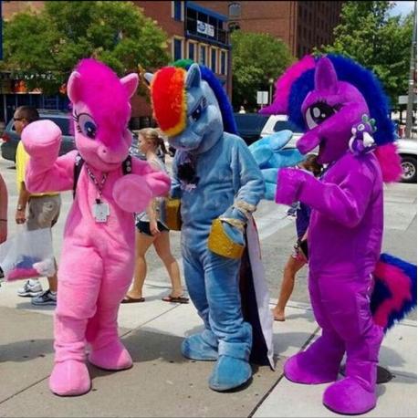 Mascotte My Little Pony (l'uno)