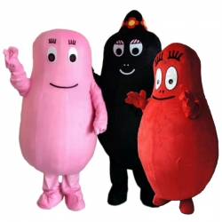 Mascot Costume Barbapapa (each one)