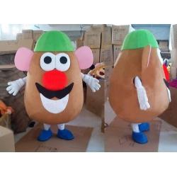 Mascotte Mr Potato