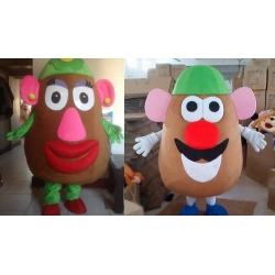 Mascot Costume Mr e Mrs Potato