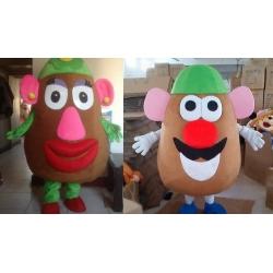 Mascot Costume Mr e Mrs Potato