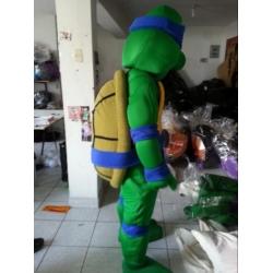 Mascot Costume Turtle ninja deluxe