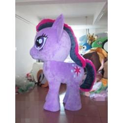 Mascotte My Little Pony su 4 zampe