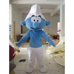 Mascot Costume Blue small man
