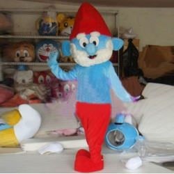 Mascot Costume Blue big man
