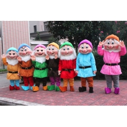 Mascotte 7 Nani Disney (l'uno)