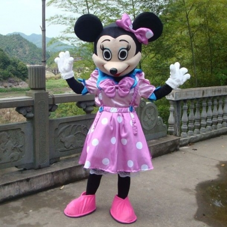 Mascot Costume n° 44 - Miss businessman