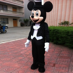Mascot Costume Groom Mickey Mouse