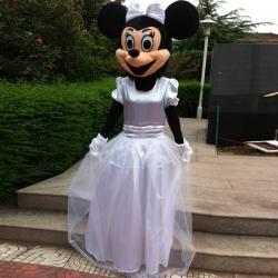 Mascot Costume n° 85 - Miss bride
