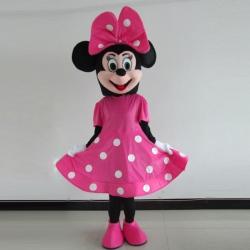 Mascotte Minnie pua fiocco grande