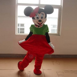 Mascot Costume n° 87 - Miss Christmas