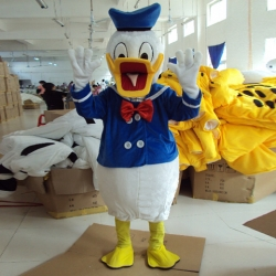 Mascot Costume n° 123 - Mr Duck