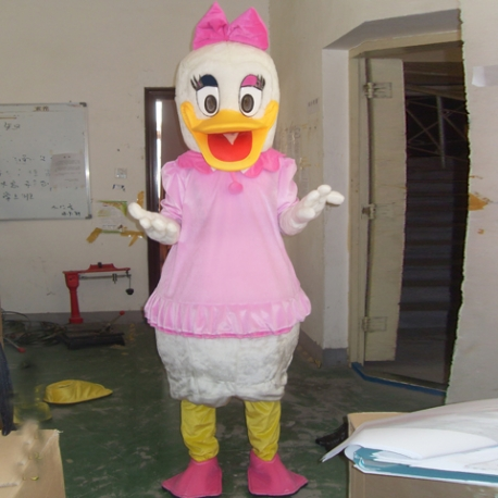 Mascot Costume n° 124 - Miss Duck