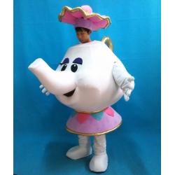 Mascot Costume Mrs. Potts (Beauty and the Beast)
