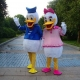 Mascot Costume n° 160 - Mr and Miss Duck