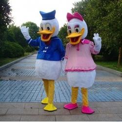 Mascotte Paperina e Paperino Disney