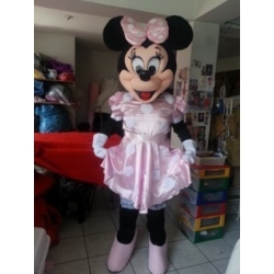 Mascot Costume Minnie Pink - Super Deluxe
