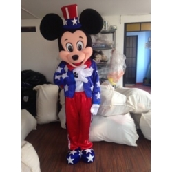 Mascot Costume Mickey Mouse Stars - Super Deluxe