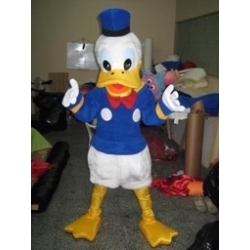 Mascot Costume Donald Duck - Super Deluxe