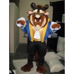 Mascot Costume The Beast (Beauty and the Beast) - Super Deluxe
