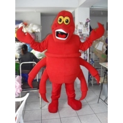 Mascot Costume Crab - Super Deluxe
