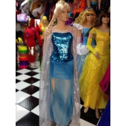 Mascot Costume n° 294 - Blue Dress - Super Deluxe