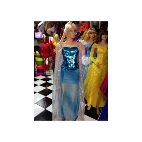 Mascot Costume n° 294 - Blue Dress - Super Deluxe