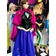Mascot Costume n° 296 - Violet Dress - Super Deluxe