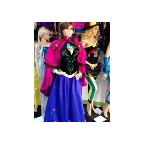 Mascotte n° 296 - Vestito Viola - Super Deluxe