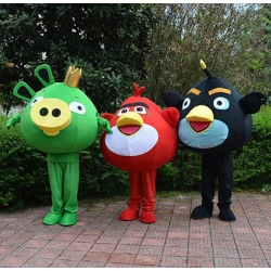 Mascotte Angry Birds (l'uno)
