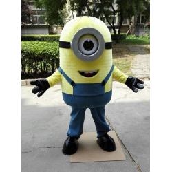 Mascot Costume Special Minion 1 eye - Despicable me