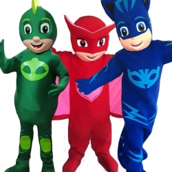 Mascot Costume PJ Mask - Greg Amaya Connor