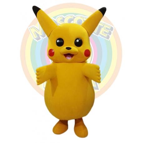 Mascot Costume Pokemon Pikachu