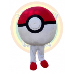 Mascot Costume Pokemon Ball