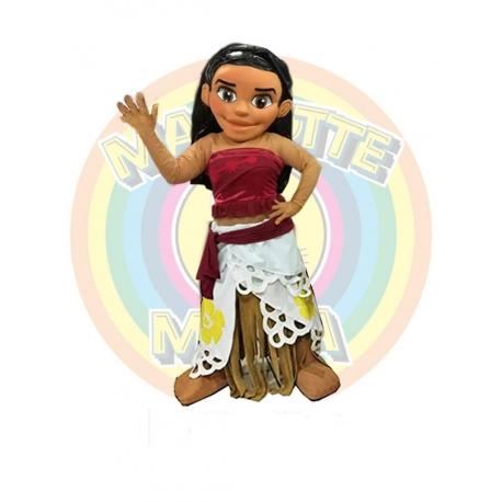 Mascot Oceania Disney