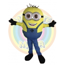 Mascot Costume Minion 2 eyes - Super Deluxe