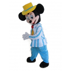 Mascot Costume Disney - Mickey Mouse businessman