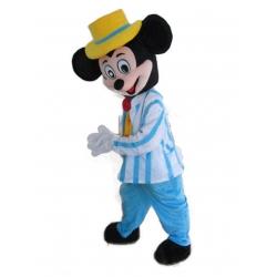 Mascotte Topolino Disney - Costume Topolino blu